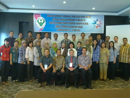 peserta pelatihan AKMS TB