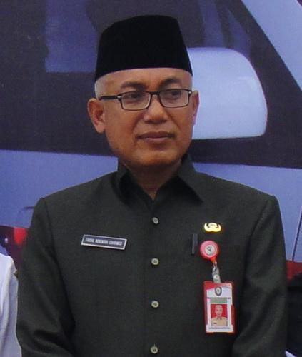 Kepala Dinas Kesehatan Kotawaringin Timur, dr. Faisal Novendra Cahyanto, M.Kes